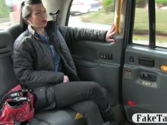 Natural tits babe ass fucked with fraud driver for free