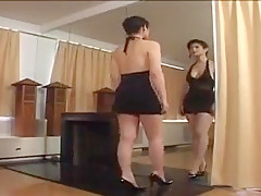 Mirror Kissing and Teasing Softcore Notgeil