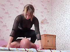 Femdom girl facesitting Deutsch