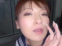 Joshi Kousei Nebenjob beim Schularrest in Tokyo