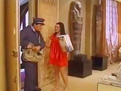 Postmann und seine Pakete
