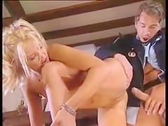 Mega Geile Dru Berrymore in Action