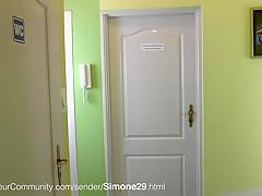 Blonde Deutsche Hausfrau Simone29