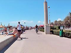 Deutsche Maedchen auf Mallorca