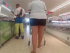 Blitzen beim einkauf 2