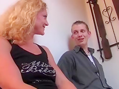 Die geile Blonde aus German Dirty Talk