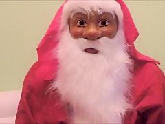 der Weihnachtsmann ich und die grosse Rute