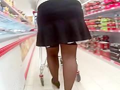 Blitzen beim einkauf