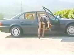 Ohne hoeschen mit strapsen im auto