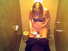 Kamera in der Disco auf der Damentoilette!