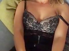 Blonde Ehesau beim privaten Sex!