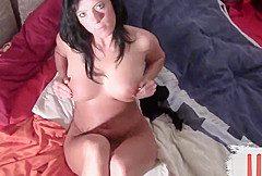 Die geile nylon Bitch