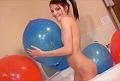 Luftballons zum Schleifen Reiben 27 (Looner Humping)