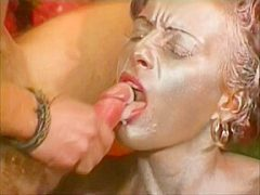 Fraulein Steel Gets Her Tight Trimmed Puss Filled With Cock.
