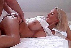 Sex mit geile blonde milf