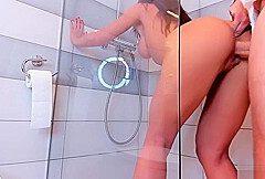 Heisser Sex unter der Dusche
