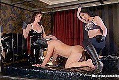 Star Mistress Luci & Krankenschwester Eins & Sklave in Doppelt Gestopft (Double Stuffed) – KINK