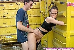 german amateur skinny teen fuck outdoor